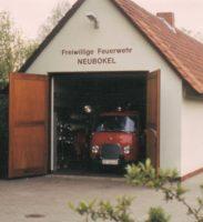 Feuerwehrhaus am Alten Kirchweg.